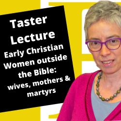 early Christian women outside the bible