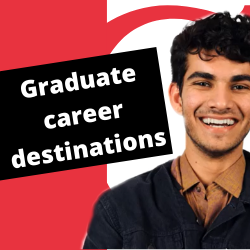 Catherine Alexander from the Careers Service describes the destinations of our graduates.