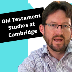 Dr Nathan MacDonald explains about Old Testament and Jewish Studies at Cambridge.