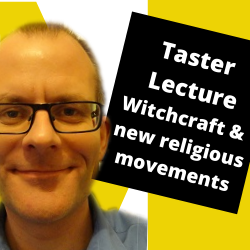 Taster Lecture Witchcraft