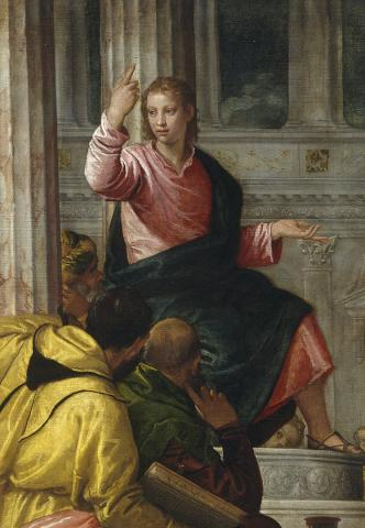 Paolo Veronese, Jesus among the Doctors, circa 1560, Prado Museum, Madrid