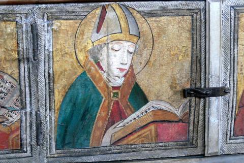 Ambrose Reading (Stadtkirche, Langenzenn, ca. 1445)
