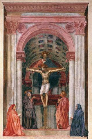 Masaccio (1401–1428), The Holy Trinity
