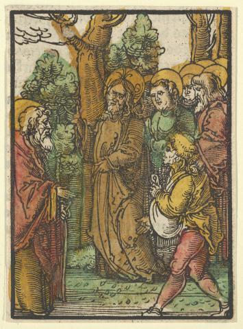 Hans Leonhard Schäufelein (1480-1538), The Parable of the Sower