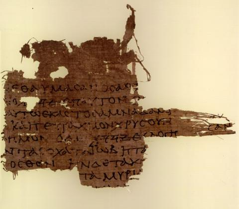Papyrus LXX Oxyrhynchus 3522, a fragment of the Septuagint from the 1st century CE