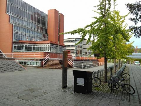 Sidgbox 1, near English Faculty Library, History and Alison Richard building