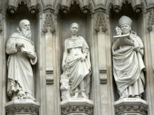 Bishop Janani Luwum among the Twentieth Century Martyrs, Westminster Abbey