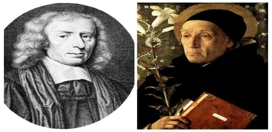 Henry More (L) and Meister Eckhart (R)