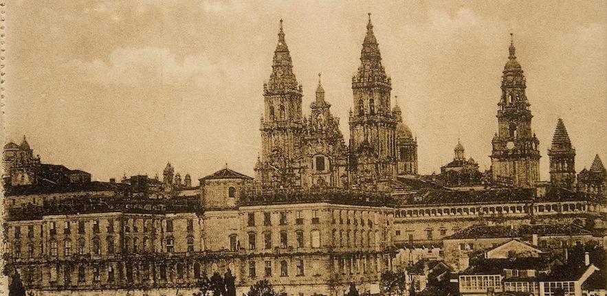 Santiago de Compostela, c1905, Biblioteca Nacional de España