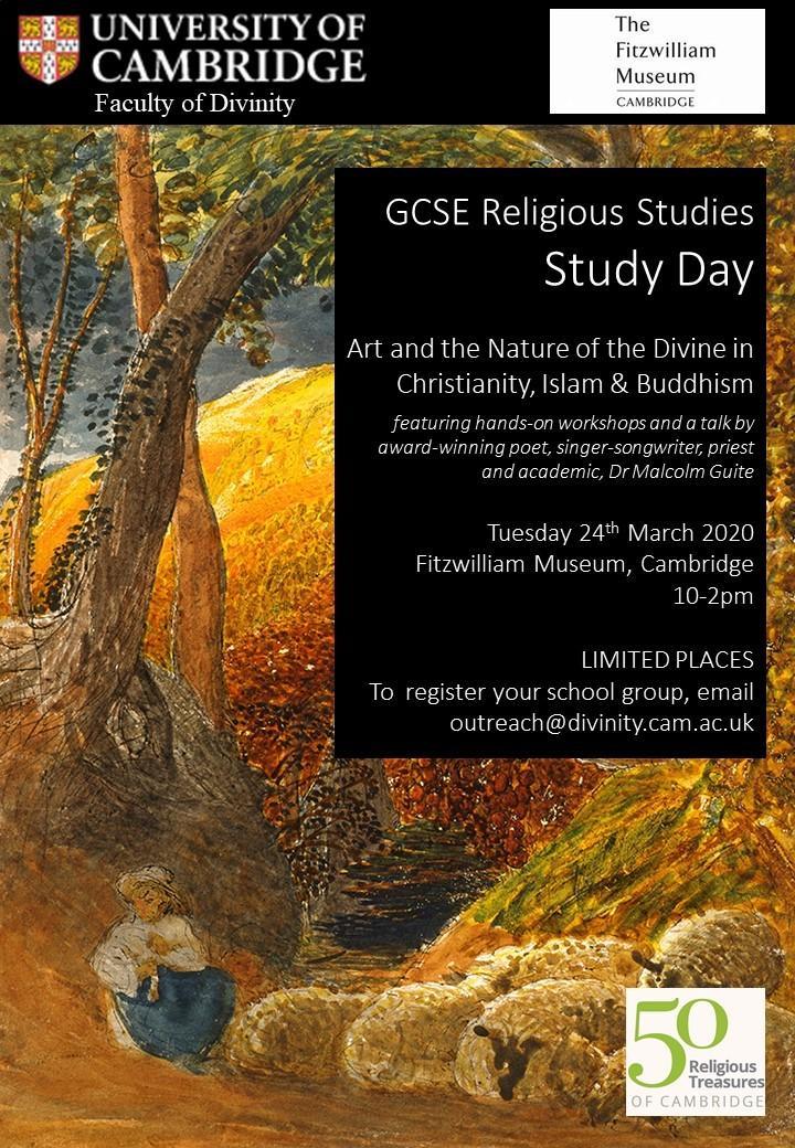 50 Religious Treasures of Cambridge Religious Studies GCSE Study Day