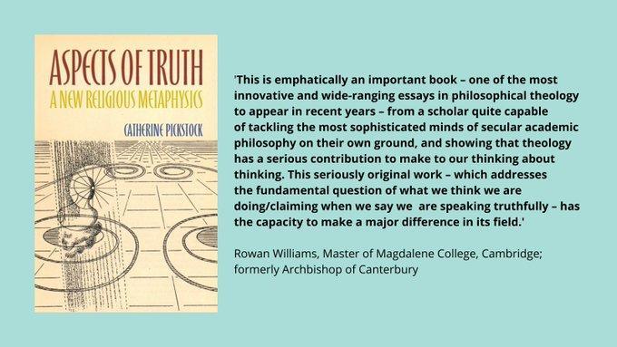New book by Professor Catherine Pickstock