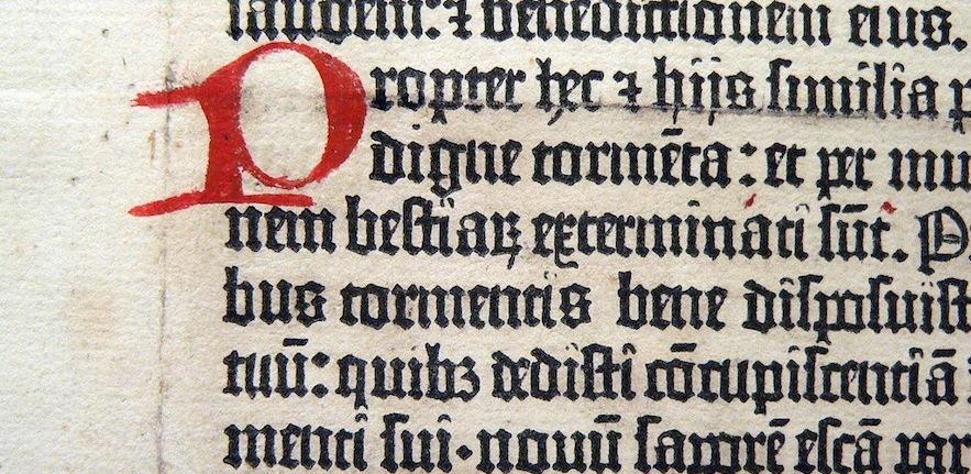 Gutenberg Bible, vlasta2 (flickr)
