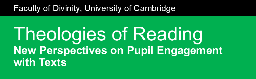 theology of reading banner